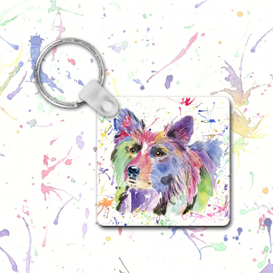 Keyring (Collie)
